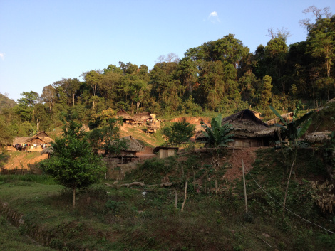 Laos_Luang_Namtha_villages