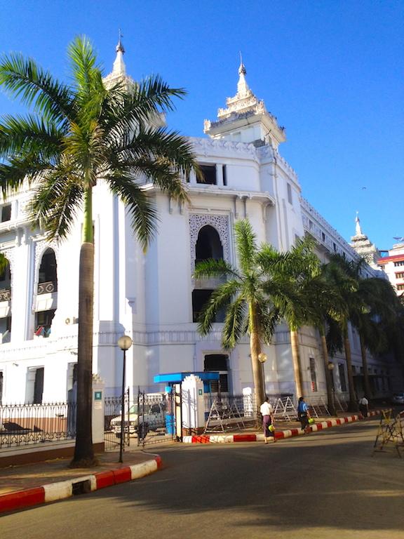 Myanmar_Yangon city walk
