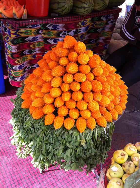 Fruit stall in Xinjiang Grand Bazaar